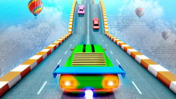 极限赛车特技巨型坡道游戏图3