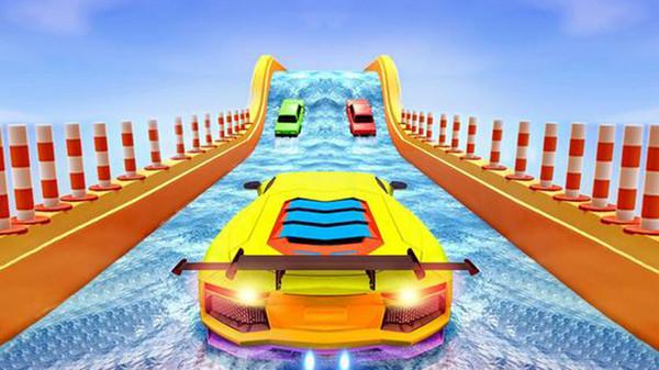 极限赛车特技巨型坡道游戏安卓版图片1