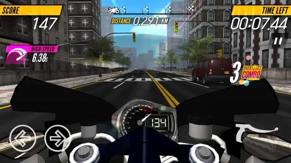 摩托车赛车游戏图3