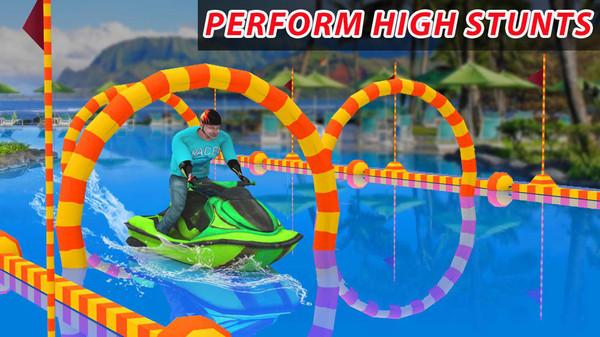 摩托艇特技模拟游戏图3