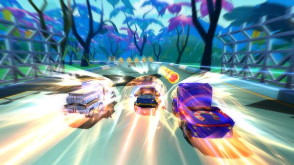 飞行飙车机器人安卓游戏最新版图片1