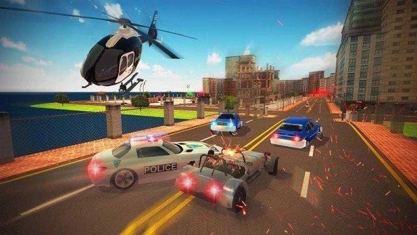 警车追逐任务安卓版游戏图片2