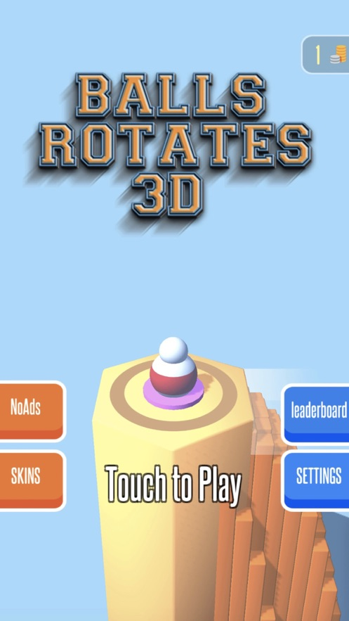 Balls Rotate 3D游戏免费版图片1