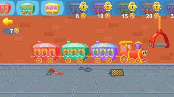 孩子们的火车游戏图2