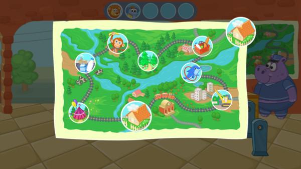 孩子们的火车游戏图3