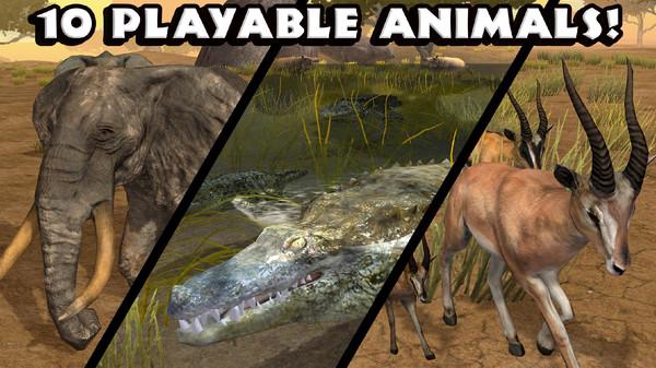 热带草原动物模拟器游戏图1