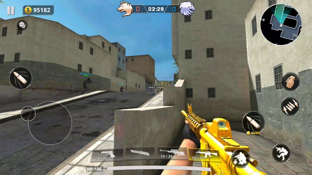 在线反恐FPS游戏安卓版(Critical Strike 5v5)图片1