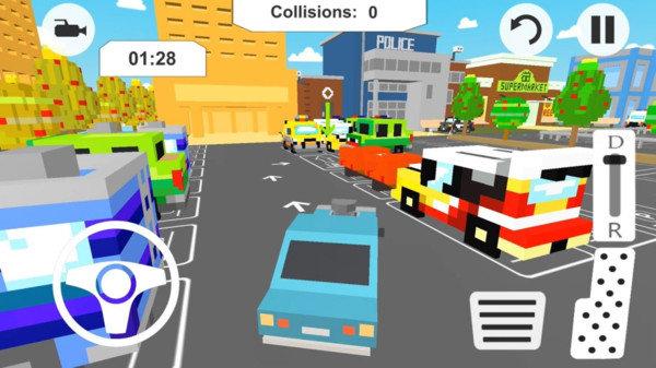 方块停车赛游戏图2