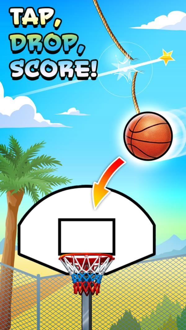 断绳篮球游戏图3