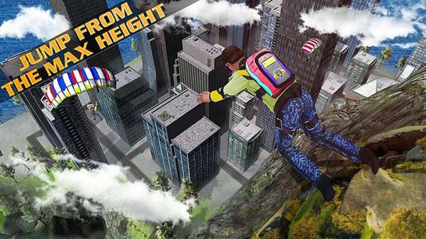 空中特技飞机跳伞游戏图2