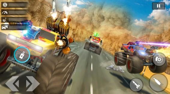 怪物卡车射击游戏图2