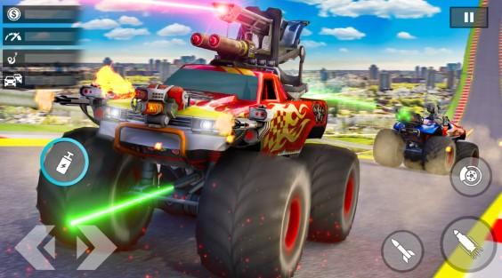 怪物卡车射击游戏图3