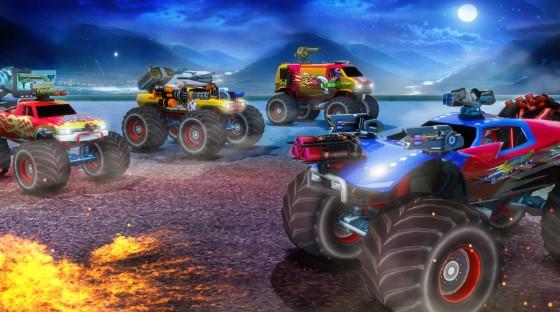 怪物卡车射击游戏免费版图片1